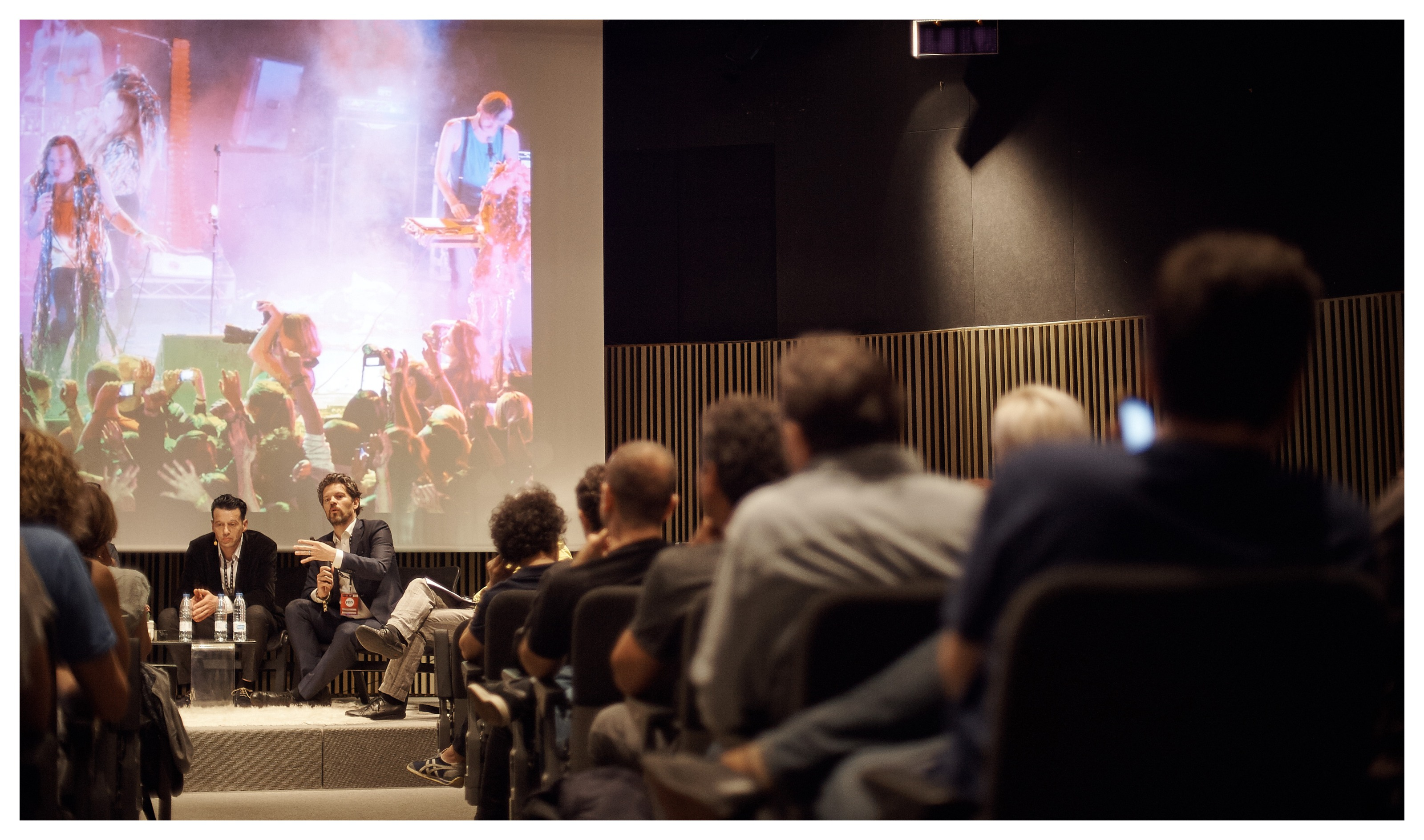 Congreso Internacional de Salas de Conciertos DayPro MACBA Paco Amate